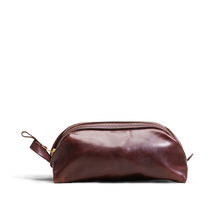Orox Brown Leather Dopp Bag