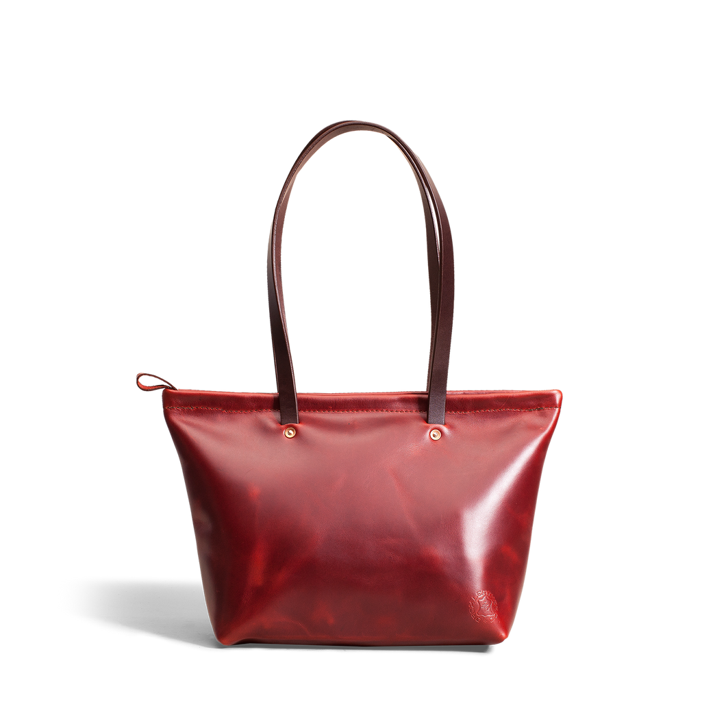 Orox Large Red Leather Purse