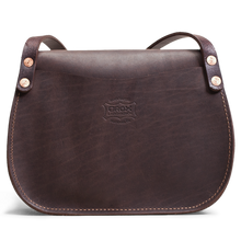 Orox Brown Leather Saddle Bag