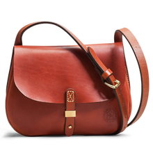 Orox Tan Leather Saddle Bag