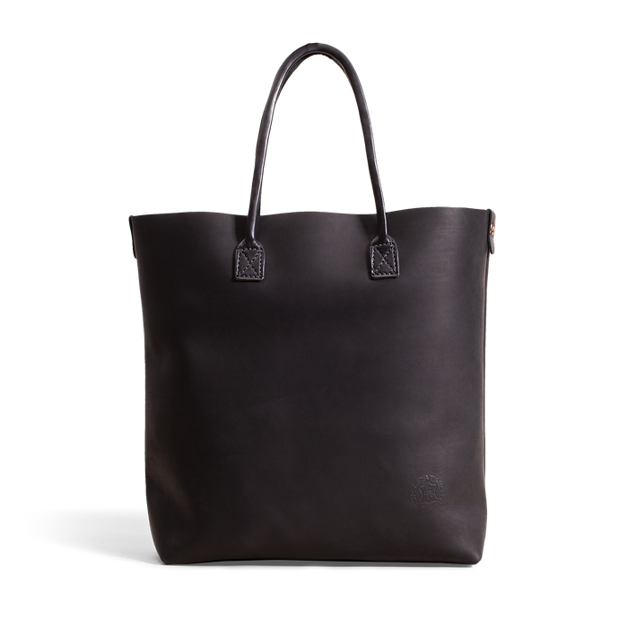 Orox Black Leather Tote