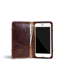 Orox Brown Leather iPhone 7+ Case