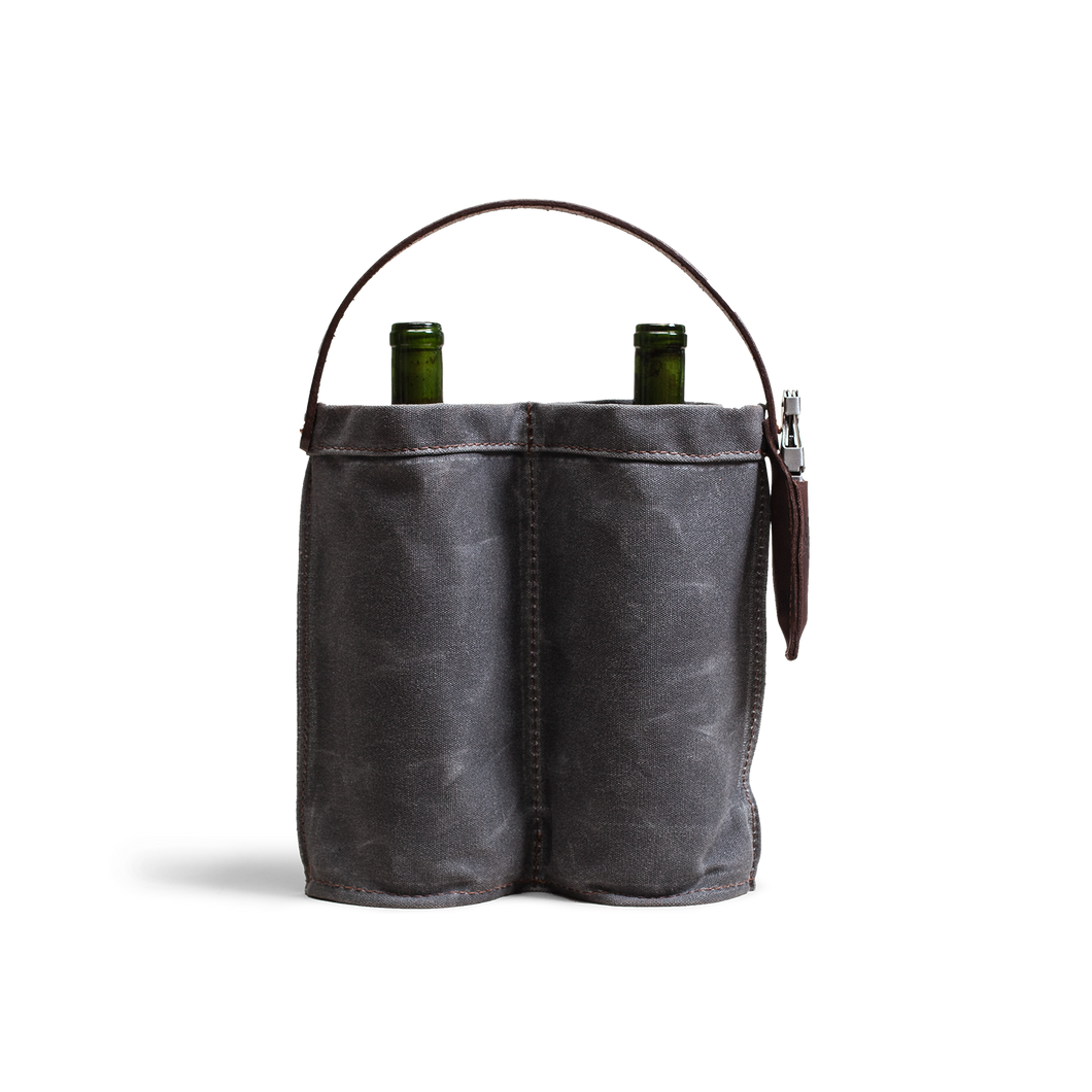 Orox Grey Canvas Wine Caddy