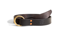 Double Ring Belt - Black