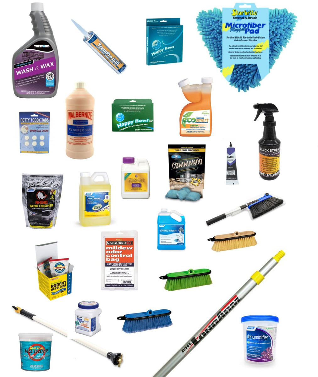 Cleaners, Sealers & Polish – Woodland Airstream Parts and RV