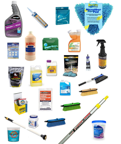 Cleaners, Sealers & Polish