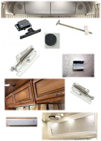 Roof Locker Hardware, Drawer Pulls & Rubber Bumpers