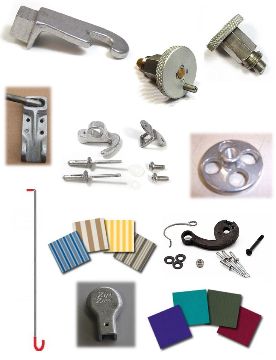 All Zip Dee Awnings & Parts - Woodland Airstream Parts and ...
