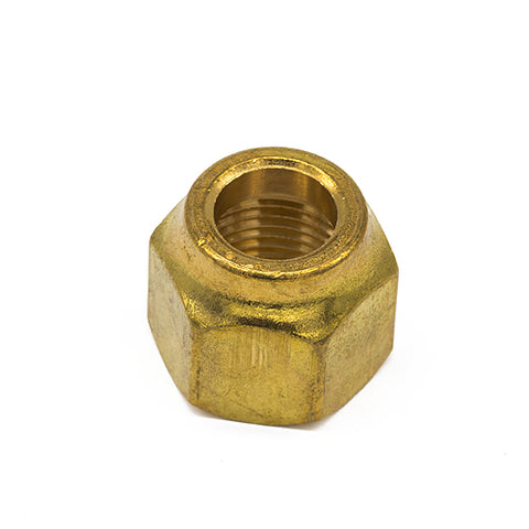 "1/2"" Heavy Forged Flare Nut, Brass"