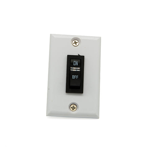 12 Volt Rocker Switch, White