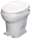 Aqua-Magic V RV Toilet Pedal Flush / High Profile / White - Thetford 31671
