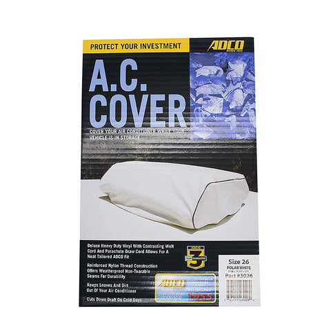 ADCO Polar White Air Conditioner Cover, Various Sizes