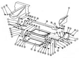 Airstream Double Step Assembly 3440006 Diagram