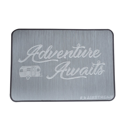 "Airstream ""Adventure Awaits"" Entrance Mat"