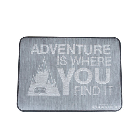 "Airstream ""Adventure Is Where You Find It"" Entrance Mat"