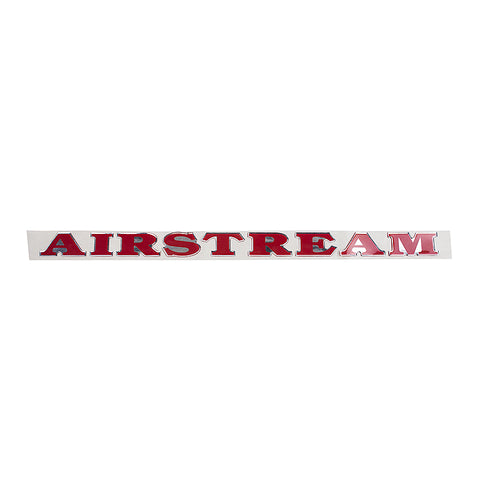 Airstream Burgundy Red Decal - 385846-02