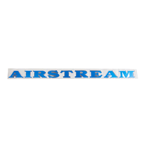Airstream Blue and Black Decal
