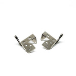 Airstream Wardrobe Door Pivot Hinges, Nickel Plated - 382159