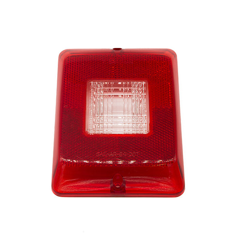 Bargman Taillight Lens #84-#86 Vertical With Backup 34-84-711