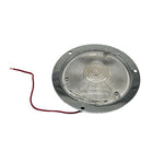 Airstream Exterior Porch Light / Flood Light / Backup Light with White Lens - 500092