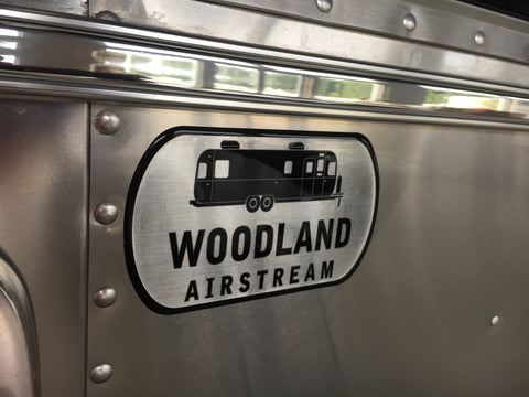 Woodland Airstream Badge
