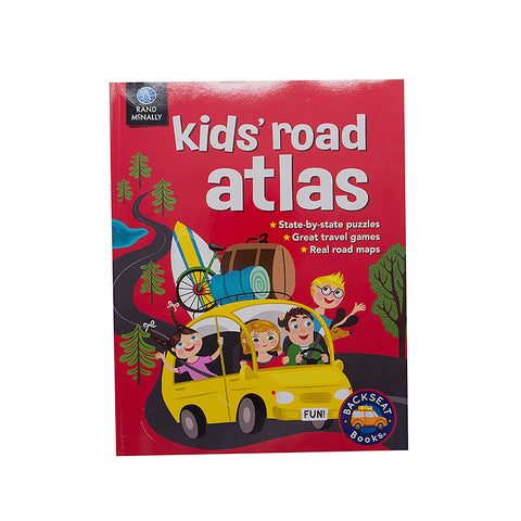 Rand McNally 0528013416 Kids' Road Atlas