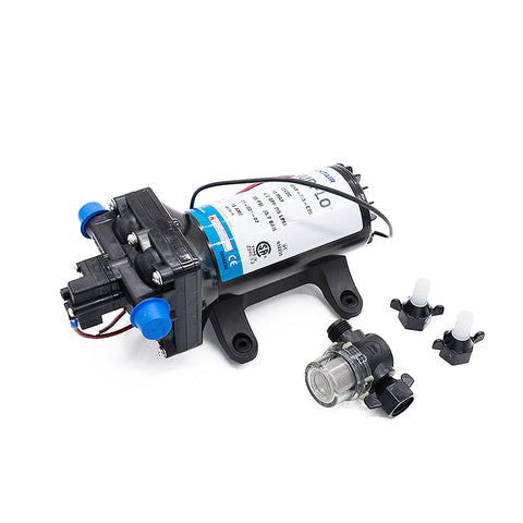 SHURFLO 4048 RV High Flow 4 GPM 55 PSI 12V Fresh Water RV Pump