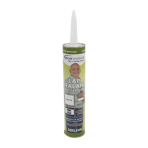 Self-Leveling Lap Sealant, White