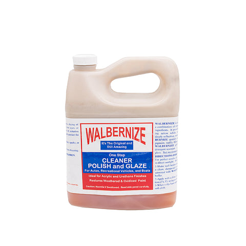 Walbernize One Step Cleaner Polish & Glaze for Airstreams 1970s and Before - 28422W