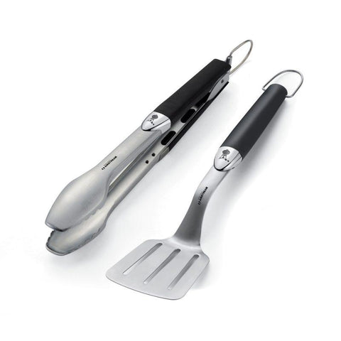 Airstream 2-Piece Stainless Steel Grill Tool Set for Airstream Weber® Q®1200 Gas Grill - 050119W-01