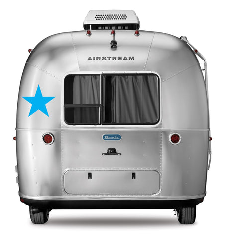Airstream Rear Roadside / Front Curbside Window Level Segment - 114888