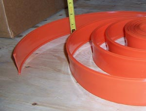 "Airstream 1-1/2"" Orange Belt Line Trim Insert, By The Foot - 201418"