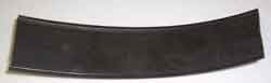 "Airstream 1-1/2"" Dark Gray Rub Rail Trim Insert, By The Foot - 201653"