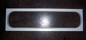 "Airstream 30"" Stack Window Trim, White - 201675-01"