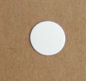 Airstream PVC Screw Cover Cap, White - 203473