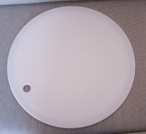 "Airstream 17.75"" Round Sink Cover, Natural - 203483"