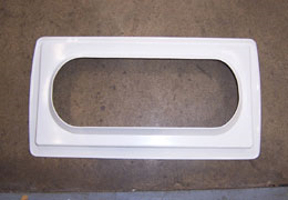 "Airstream 18"" Vista View Trim Ring, White - 203490-01"