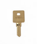 Airstream Key Blank KS600 for Main Door Lock,  RH Series - 381547-100