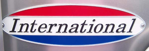 Airstream International Nameplate Badge - 386108