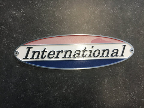 Airstream International Nameplate, Scratch & Dent #2* AS IS- 386108 S/D#2