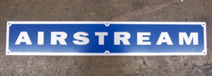 "Airstream 3.5"" x 21"" Nameplate - 51101WR"