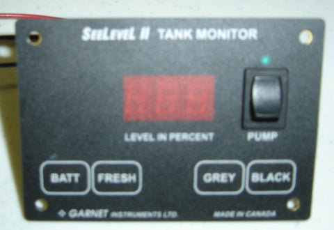 Airstream Tank System Monitor Panel, No LPG - 512566-01