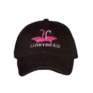 Airstream Flamingo Hat - Black