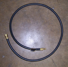 "Airstream 56"" Quick Connect Low Pressure Propane Hose - 602109-02"