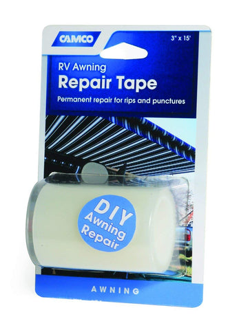 "Camco 42613 3"" x 15' Awning Repair Tape"