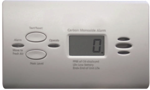 Dometic Atwood 32703 RV Carbon Monoxide Detector - LCD Digital, White