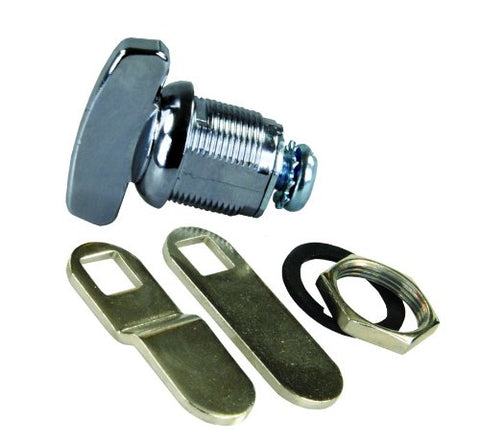 JR Products 00115 Deluxe Compartment Thumb Lock - 5/8""