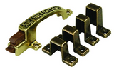 JR Products 70485 Cabinet Catch and Strikes - Patterned