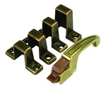 JR Products 70495 Cabinet Catch and Strikes - Grooved