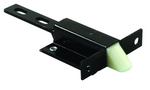 JR Products 10935 Black 2 inch Compartment Door Trigger Latch